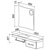 Комплект мебели Отель 1400-01 (3)